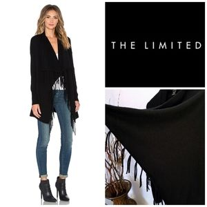 Convertible Fringe Cardigan | The Limited | Medium